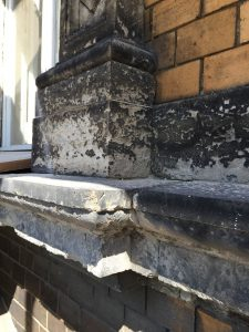 Vorgefundener Fassadenzustand